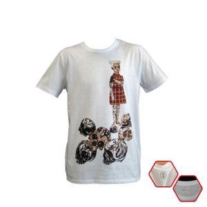 Camiseta de algodón orgánico LA ESPERA