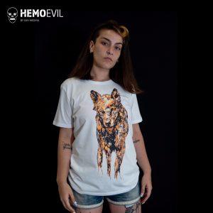 """Camiseta Modelo """"Lobo"""""""