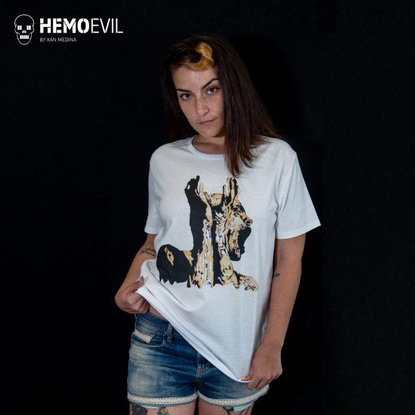 """Camiseta Modelo """"Nunca más"""""""