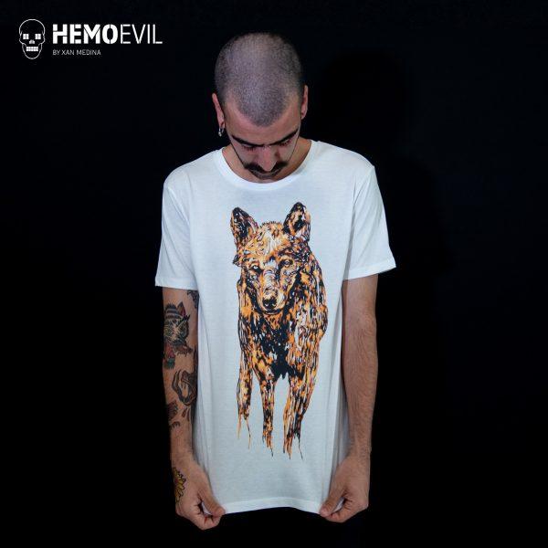 "T-shirt model ""Wolf"""