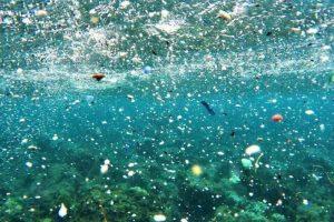 Microplastics in water