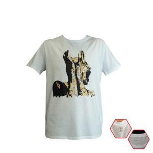 Camiseta impresión digital NUNCA MÁS