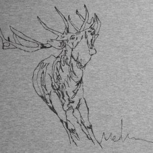Camiseta pintada a mano LA BERREA