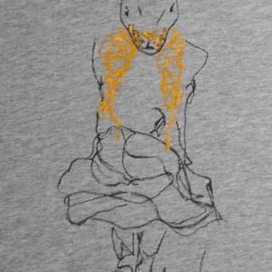 Camiseta pintada a mano QUIÉN SOY