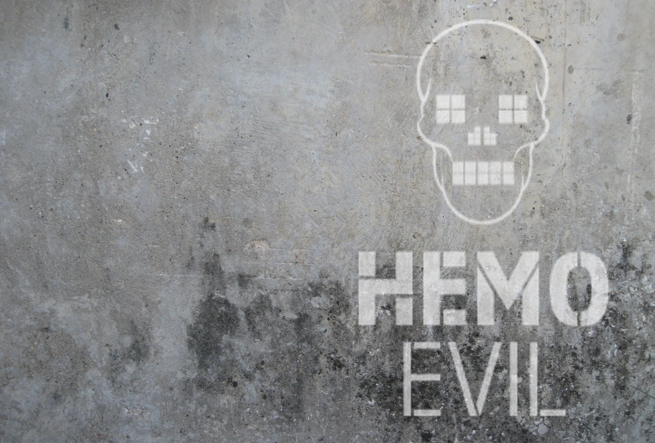 Hemo Evil - Contemporary art on textile