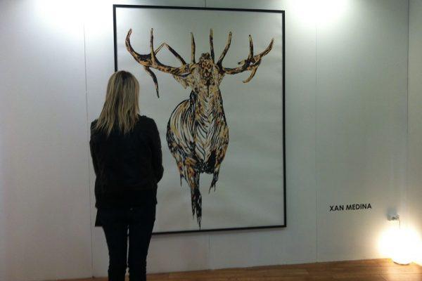 """Xan Medina, Arte al alcance de todos:""""Fábula Pintada""""."""